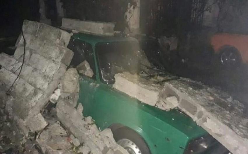 Kubada qasırğa nəticəsində ölən və yaralananlar var - FOTO