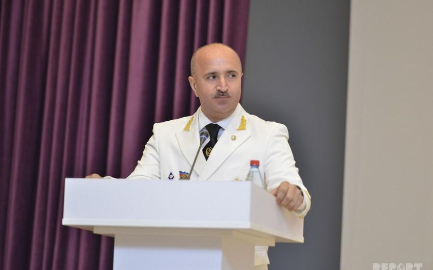 """Rauf Vəliyev: """"Son beş ildə Gəmiçiliyin donanması 20-dən çox yeni gəmi ilə möhkəmləndirilib"""""""