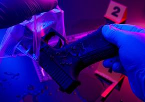 Samuxda zavoduniş otağındakı seyfdən silah-sursat götürüldü