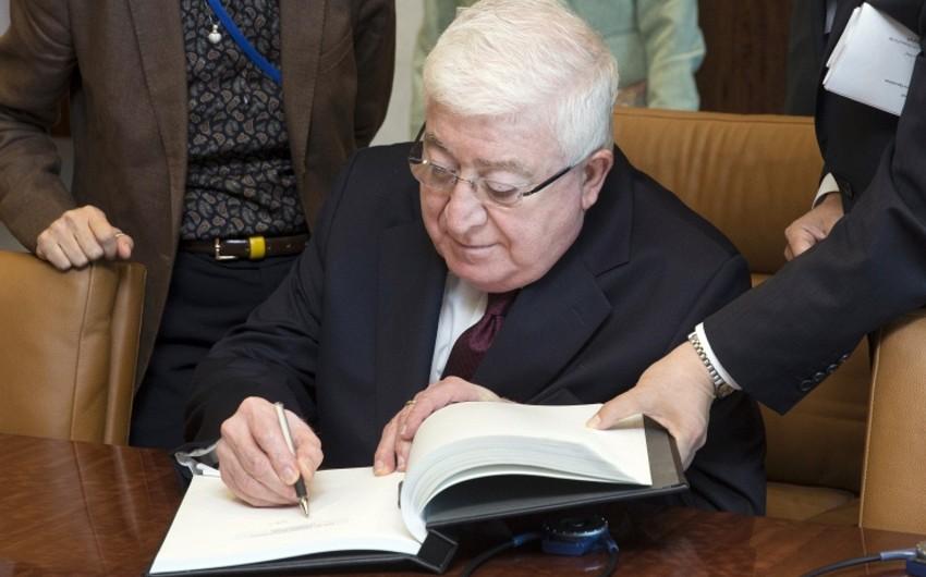 İraq prezidenti Britaniya vətəndaşlığından imtina edib