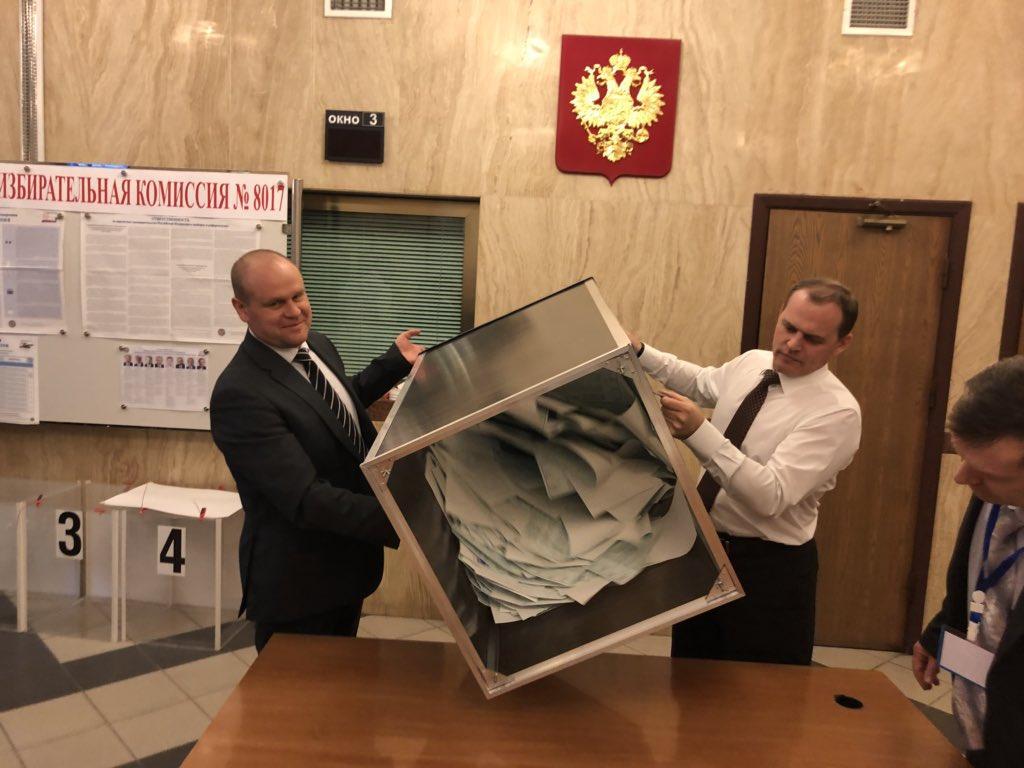 Оглашены итоги голосования на выборах президента России в Азербайджане