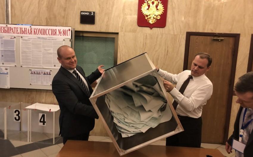Rusiyanın Azərbaycandakı səfirliyində səsvermənin nəticələri açıqlanıb