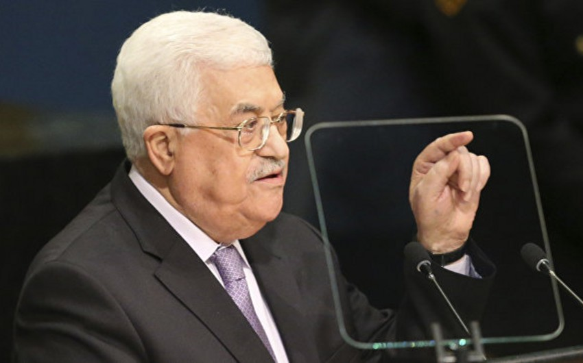 Mahmud Abbas: Fələstin BMT-nin tamhüquqlu üzvü olmaq niyyətindədir