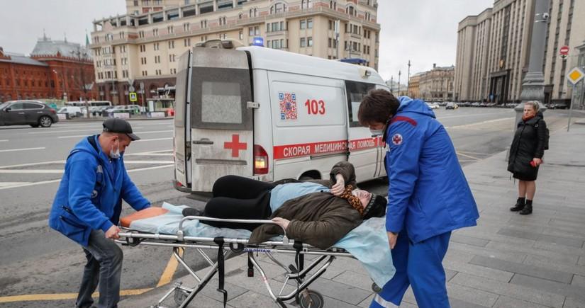 В России за сутки скончались ещё 124 пациента с коронавирусом