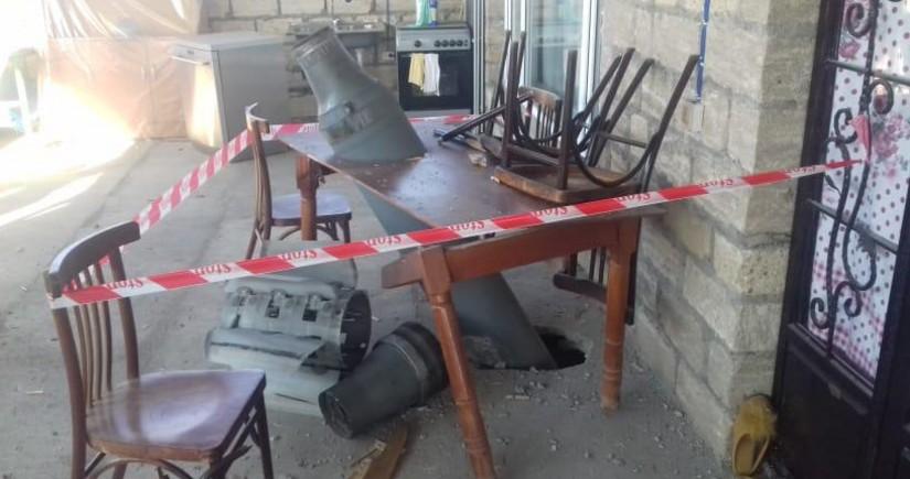 Армяне выпустили ракету Смерч по селу Тертерского района