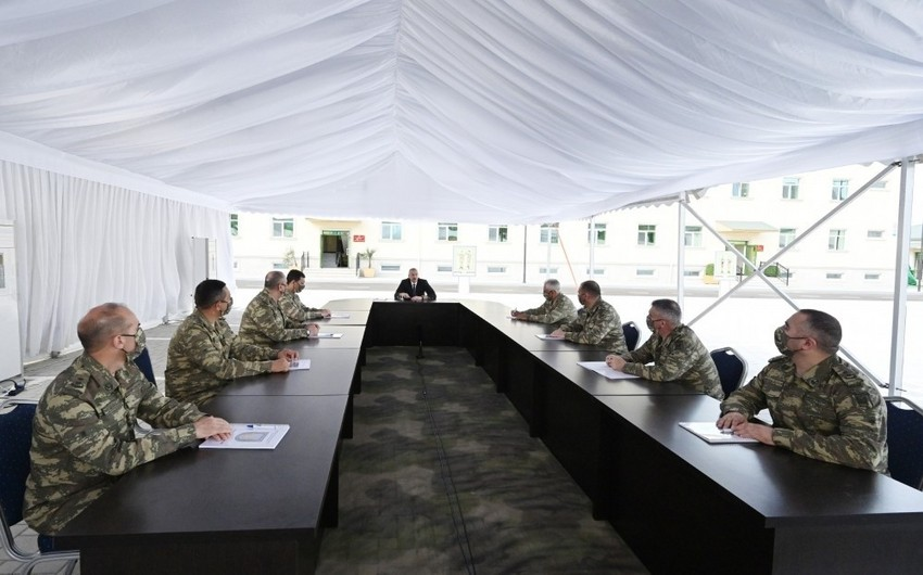 Ali Baş Komandan: Bu gün Azərbaycan Ordusu çox yüksək peşəkarlığa malikdir