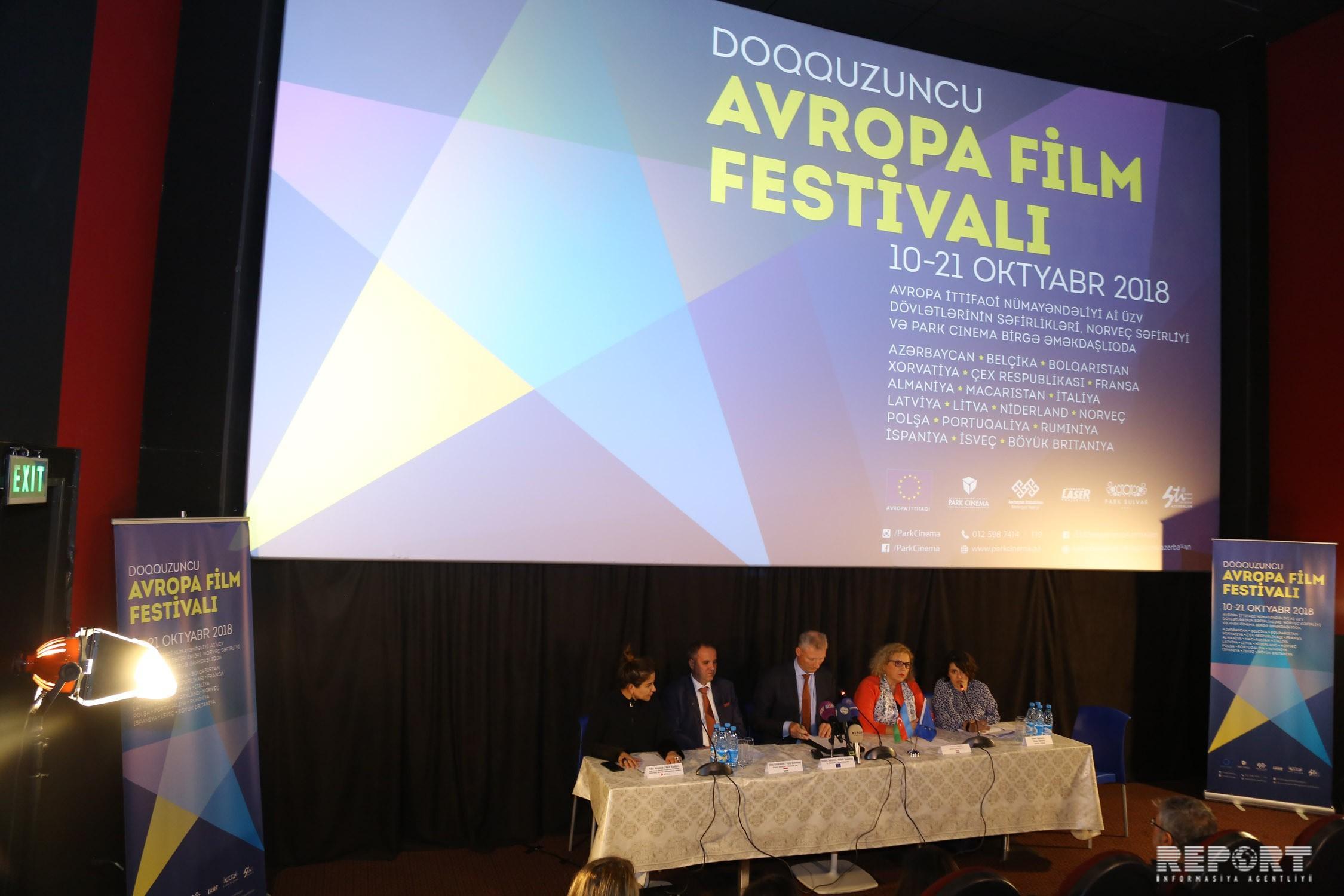 European Film Festival kicks off in Baku
