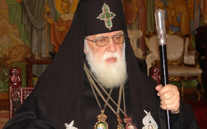 Gürcüstanın patriarxı Rusiya Pravoslav Kilsəsinin nümayəndələri ilə görüşüb