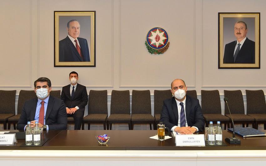 Təhsil naziri Türkiyə səfiri ilə görüşüb