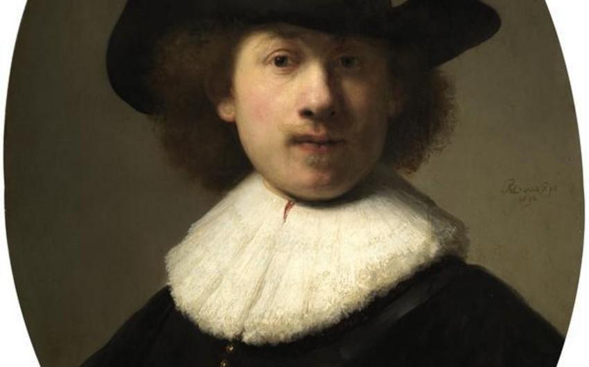 Rembrandtın avtoportreti 20 milyon dollara hərraca çıxarılıb