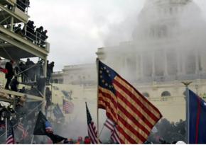 Вторжение протестующих в Капитолий стало первым с 1814 года