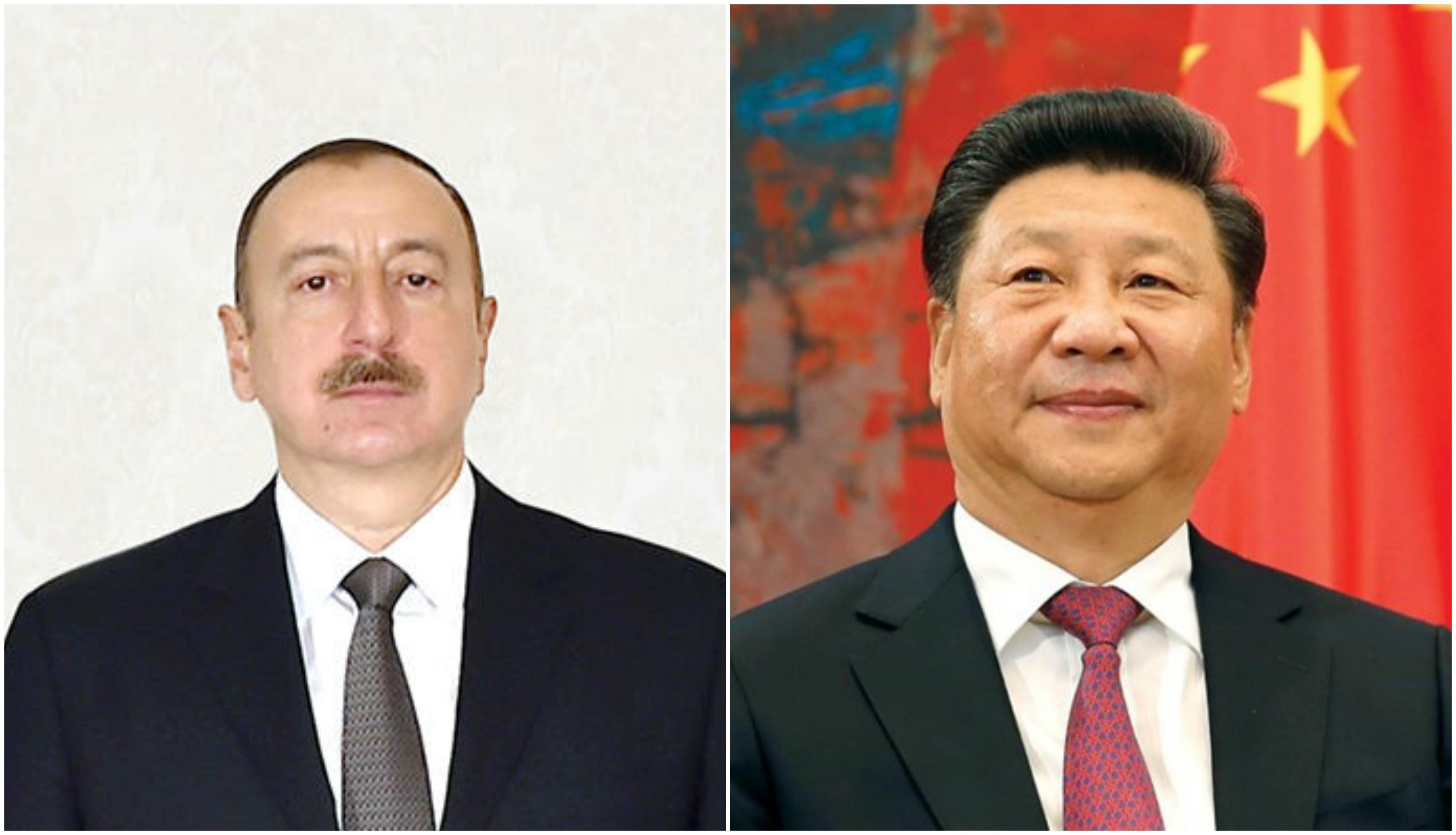 Президент Азербайджана поздравил Си Цзиньпина с избранием на пост председателя Китая