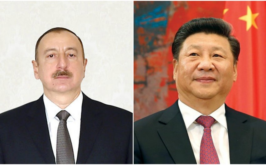 Azerbaijani President congratulates Xi Jinping on his re-election as President of China