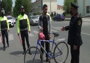 Polis Ağdaşda reyd keçirib, cərimə olunanlar var