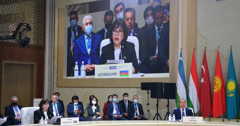 TÜRKPA-nın plenar iclasında Zəngəzur dəhlizi ilə bağlı məsələ qaldırılıb