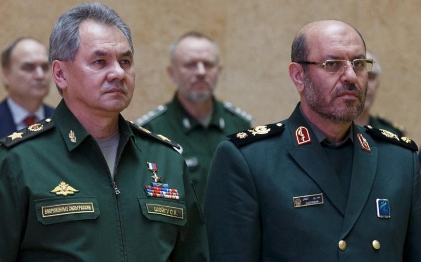 İran prezidenti Rusiyanın müdafiə nazirini qəbul edib