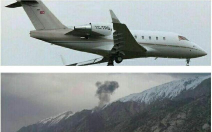 """İranda qəzaya uğrayan Türkiyə təyyarəsinin """"qara qutusu"""" tapılıb"""