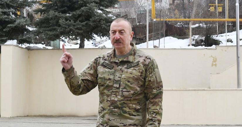 Ali Baş Komandan: Biz ədalət, ləyaqət, milli qürur və müqəddəs savaşa çıxmışdıq