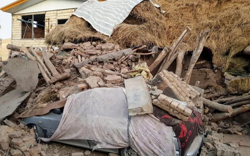 İrandakı zəlzələ nəticəsində yaralananların sayı artıb