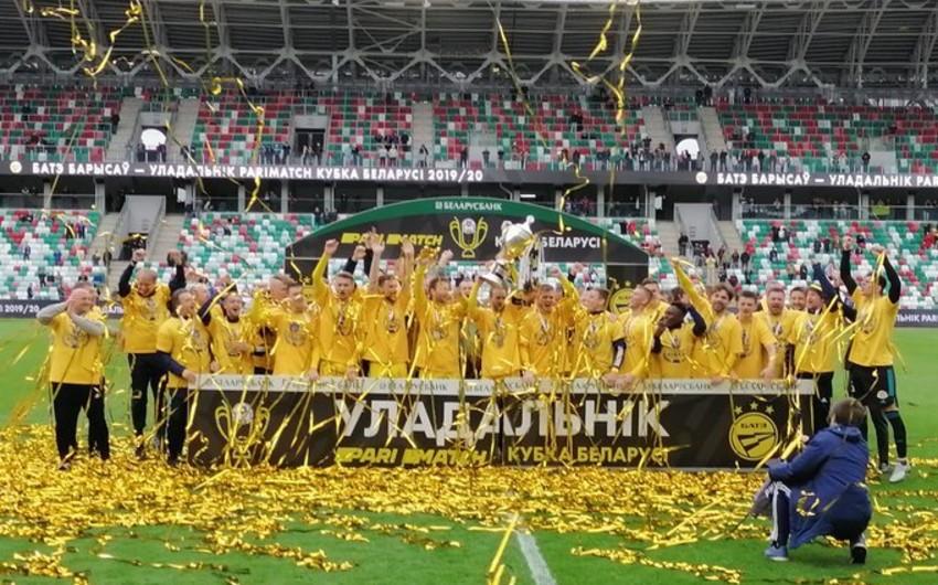 Belarus Kubokunun sahibi məlum oldu
