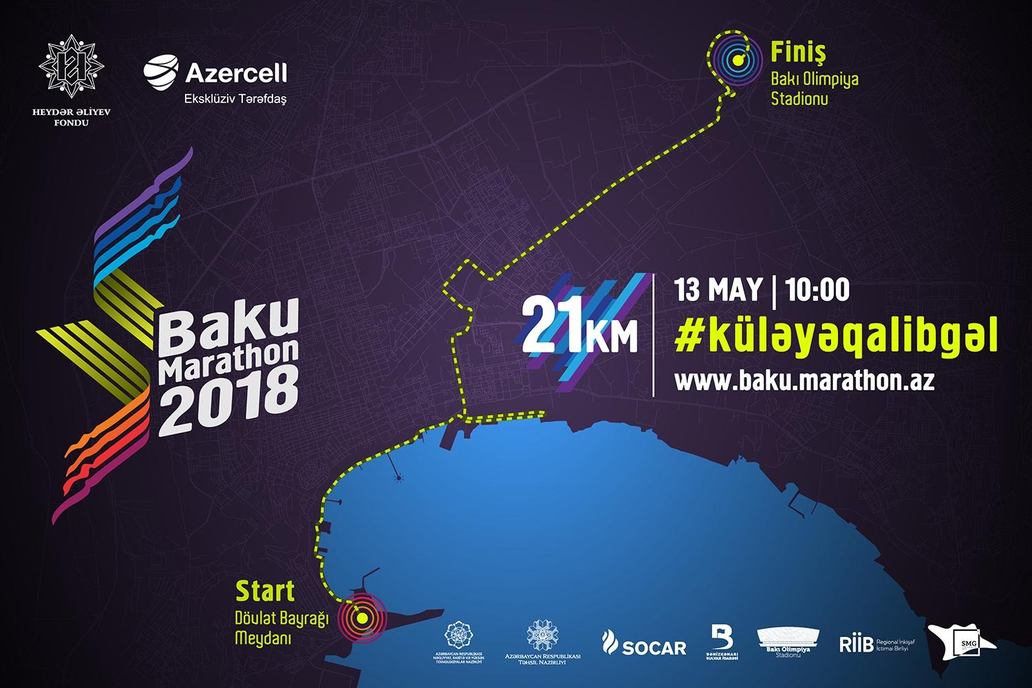 Heydar Aliyev Foundation to launch Baku Marathon 2018