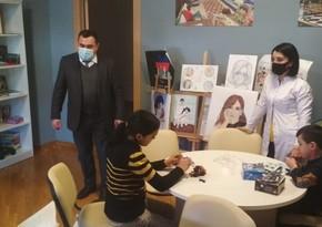 Ombudsmanın nümayəndələri uşaq evinə baş çəkdi, bəzi nöqsanlar aşkarlandı
