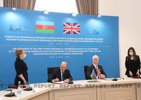 Azerbaijan, UK sign two documents