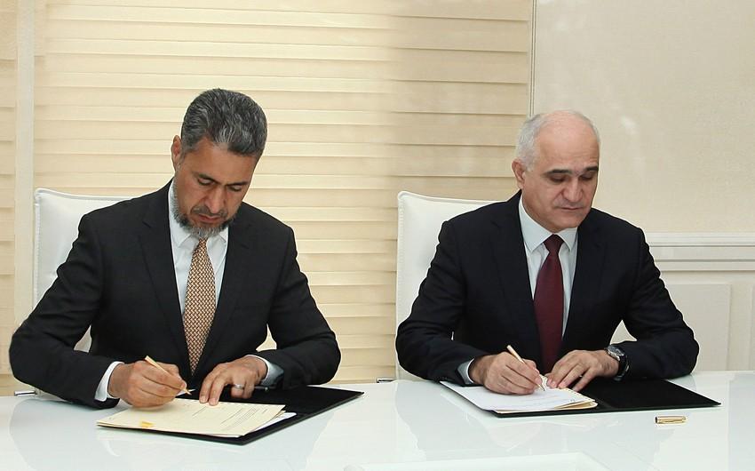 Azərbaycan və İslam İnkişaf Bankı arasında qrant sazişi imzalanıb