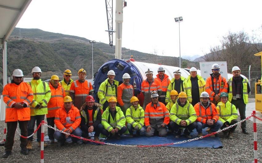 TAP starts work on 1.5 km micro tunnel in Albania