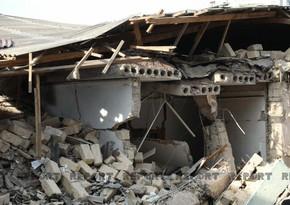 Xırdalandakı partlayışın təsirindən yaxınlıqdakı binanın 4 sakini xəsarət alıb