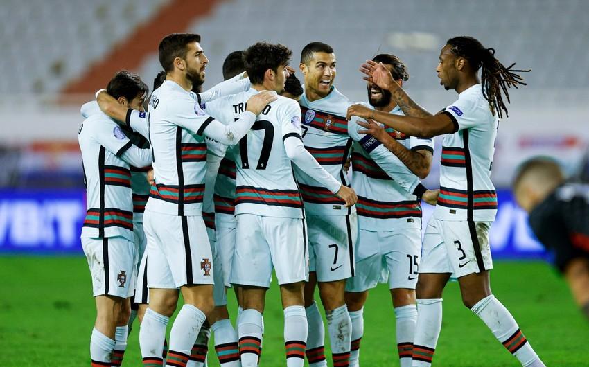 Portuqaliya yığmasının əsas futbolçuları millimizlə oyunu buraxır