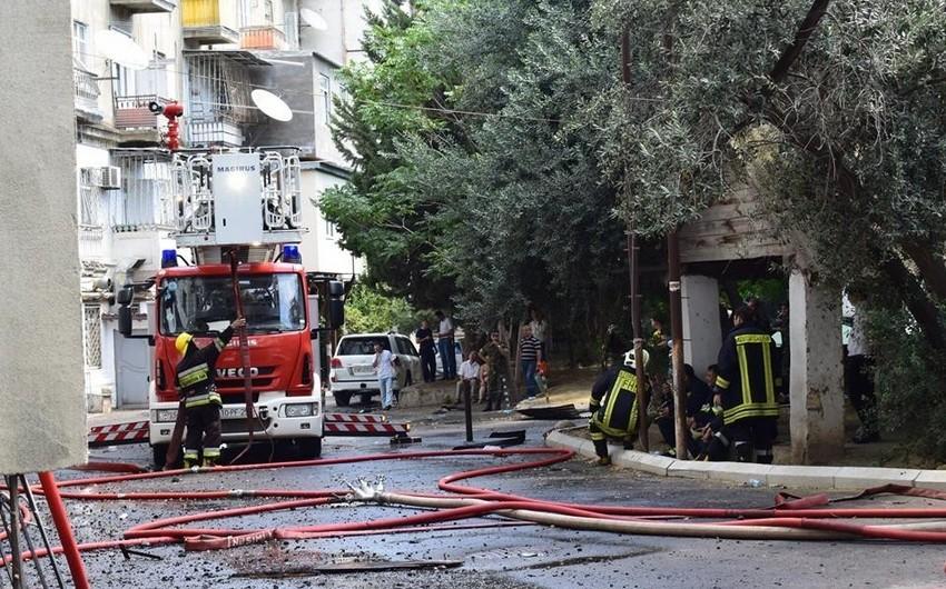 В Гёйчае во время пожара в доме погиб человек