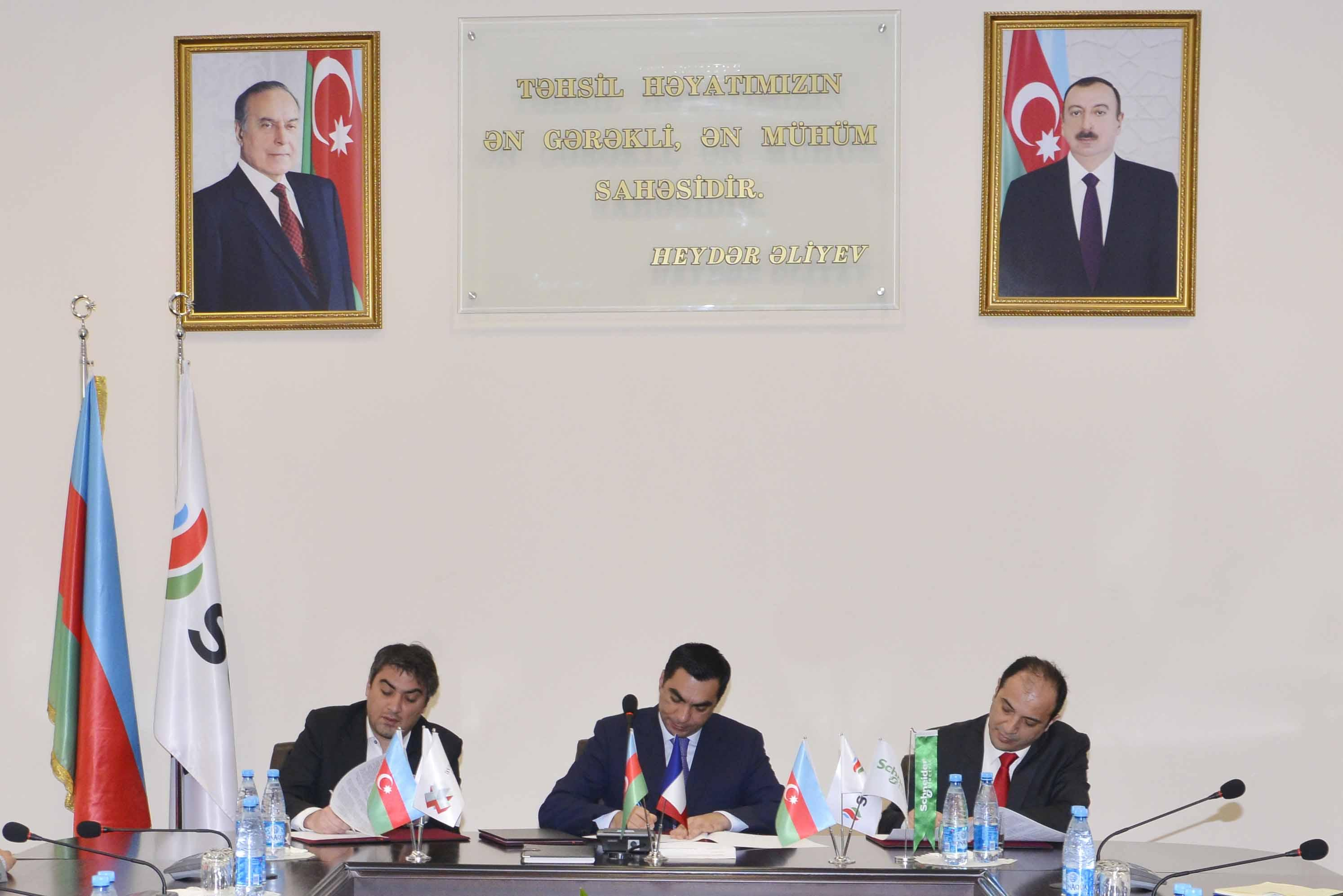 Bakı Ali Neft Məktəbi iki şirkətlə əməkdaşlıq haqqında razılaşma imzalayıb