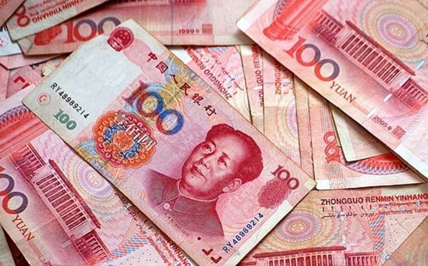 Yuan son 11 ilin minimum həddinə enib