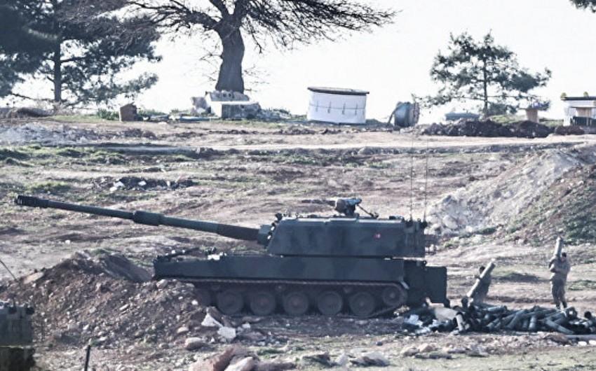 Türkiyə ordusu İŞİD və PYD-nin Suriyadakı mövqelərinə zərbələr endirib
