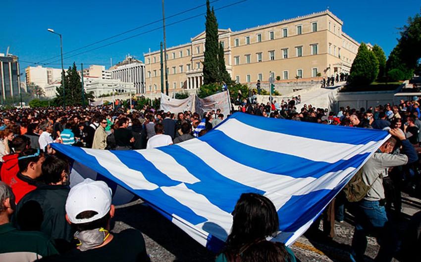 Yunanıstanda 24 saatlıq ümumi tətil keçiriləcək