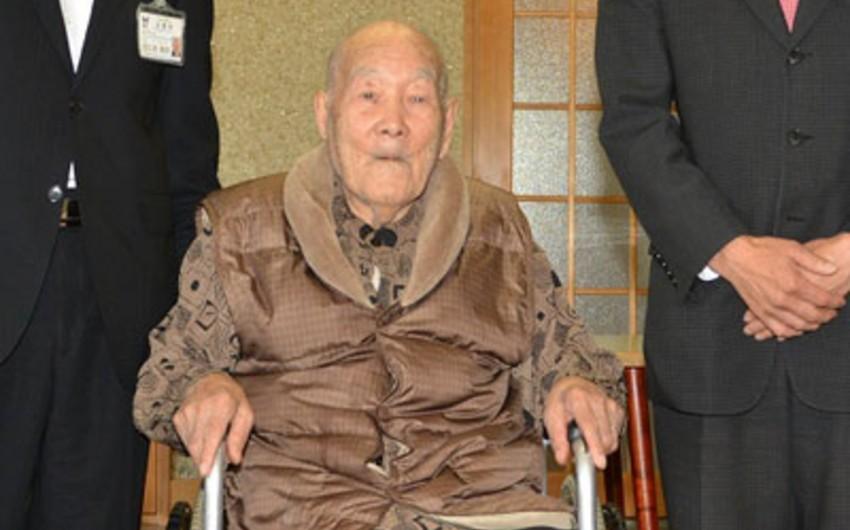 Dünyanın ən yaşlı kişisi 112 yaşlı yapon olub