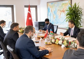 Azerbaijani minister meets with head of Turkish ICT company