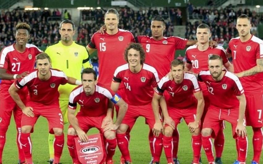 Австрия назвала состав на Евро-2016