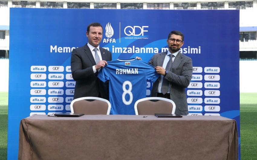 Фонд возрождения Карабаха и АФФА подписали меморандум