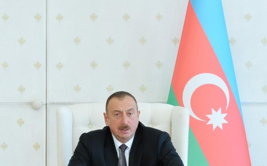 Prezident İlham Əliyev: Azərbaycan xalqı heç vaxt işğalla barışmayacaq