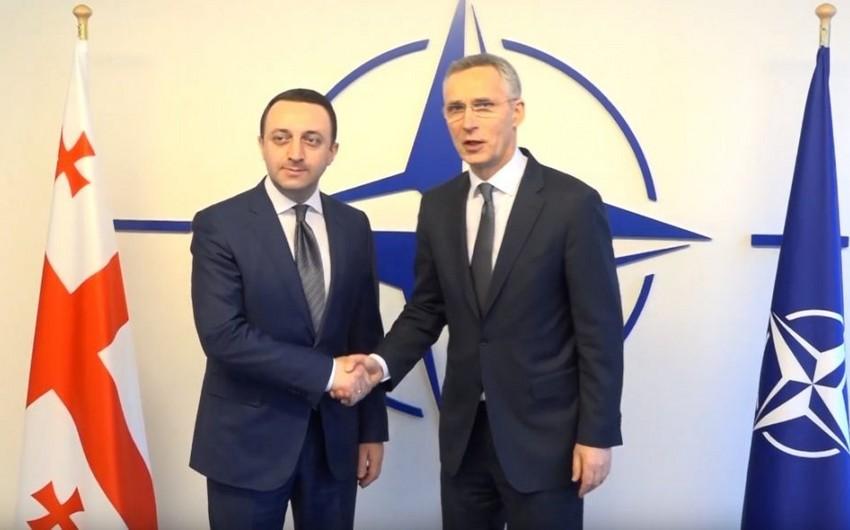 Brüsseldə Gürcüstanın NATO-ya üzvlüyü müzakirə edildi
