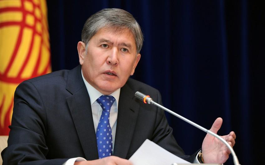 Qırğız Respublikasının prezidenti Ermənistanın baş naziri ilə görüşüb