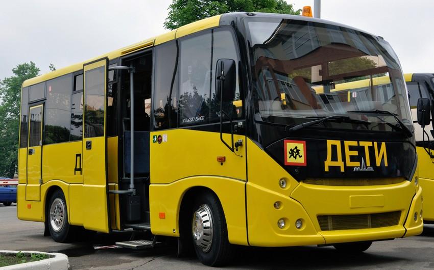 Rusiyada məktəblilər üçün yeni avtobuslar alınacaq