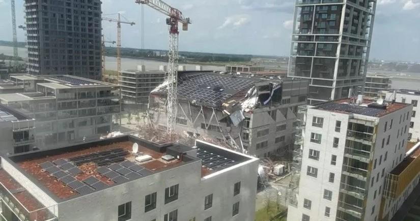 В Бельгии обрушилось здание школы