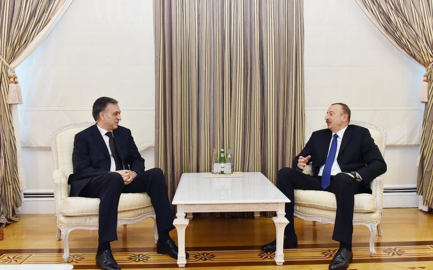 Prezident İlham Əliyev monteneqrolu həmkarı ilə görüşüb