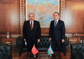 Jeyhun Bayramov, Speaker of Turkish Parliament hold meeting