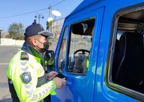 Masallıda COVID-19 pasportu olmayan sürücülərlə bağlı reyd keçirilib