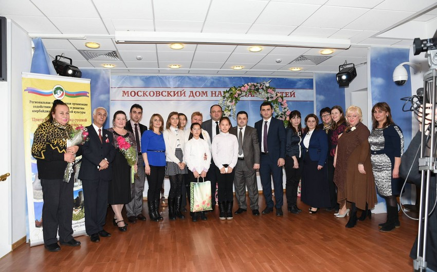 Moskvada Azərbaycan-Rusiya Dostluq Körpüsü adlı beynəlxalq uşaq yaradıcılıq müsabiqəsi keçirilib