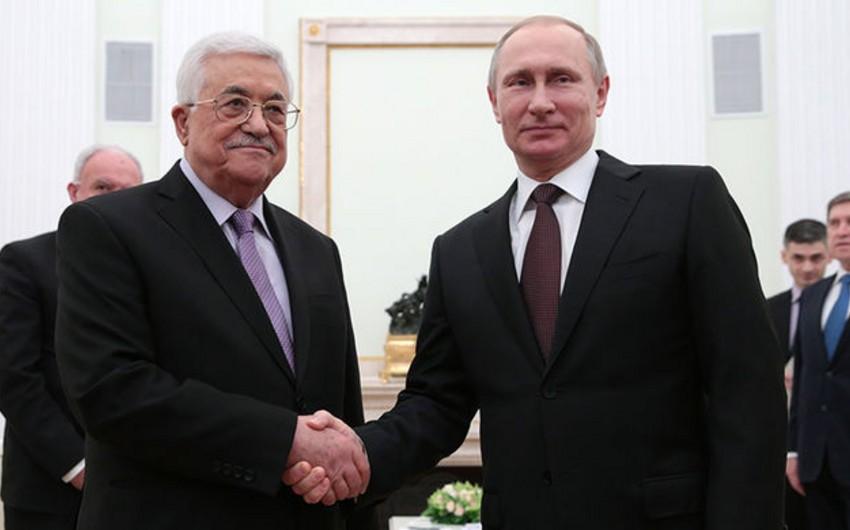 Vladimir Putinlə Fələstin prezidenti Mahmud Abbasın görüşəcəyi tarix açıqlanıb